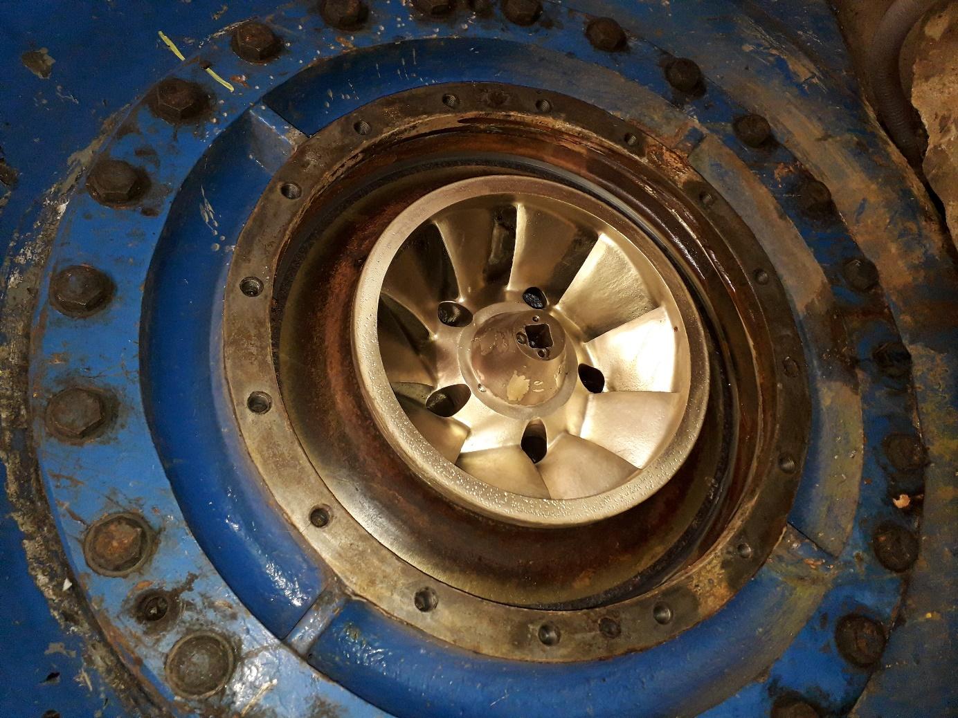 Turbine hydroélectrique 7